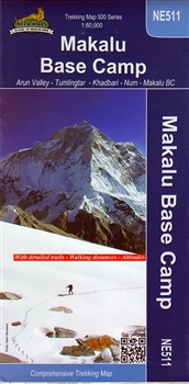 Makalu Base Camp Map (NE511)