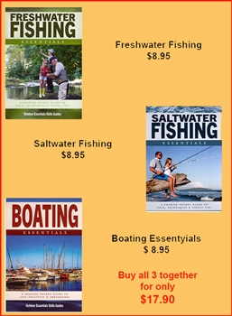 Essentials Brochures; Boating, saltwater and Freshwater Fishing