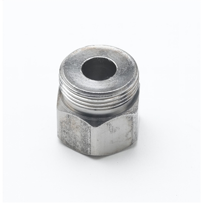 T&S 000729-40 Chrome Plated Brass Hose Inlet Nut