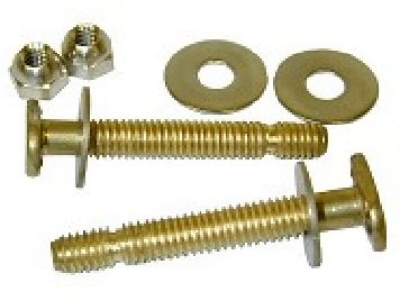 "Closet Bolts (Pair) 1/4""x2-1/4"" Break Off Type"
