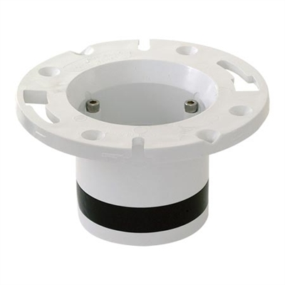 Closet Flange PVC 3 Bolt Compression