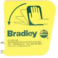 BRADLEY 128-135 PLASTIC EYEWASH HANDLE