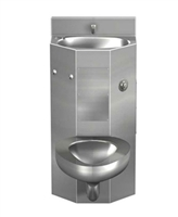 "Acorn 1418FA Front Access 18"" Toilet-Lavatory Comby"
