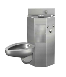 Acorn 1418LMBFA Front Access Toilet-Lavatory Comby w/ Multi-Sided Lavatory Bowl