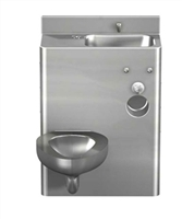 "Acorn 1426FA Front Access 26"" Toilet-Lavatory Comby"