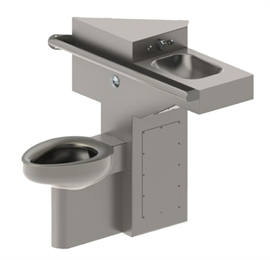 Acorn 1432FA-ALAR Front Access ADA Compliant Toilet-Lavatory Comby w/ Angled Toilet and Lavatory