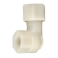"Metcraft 18600 1/2"" OD x 1/2"" FIP Elbow Compression Adapter - Tubing x Female Pipe"