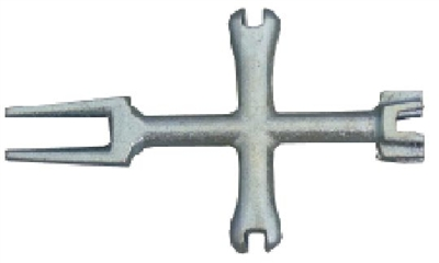 4 Way Plug Wrench
