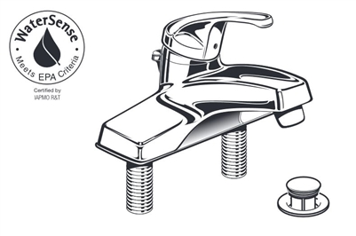 American Standard 2175.202 Single Control Lavatory Faucet