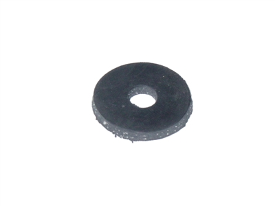 Cloth inserted rubber washer for closet bolts