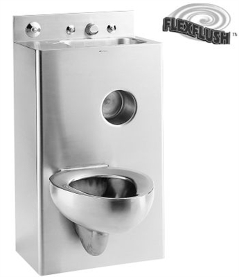 "Metcraft 3120-90R&L 20"" Toilet-Lavatory Comby"