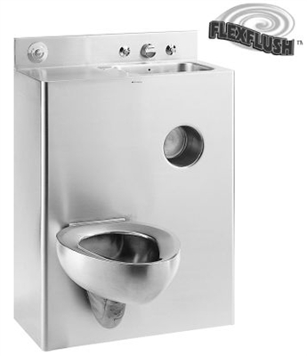 "Metcraft 3126-90R&L 26"" Toilet-Lavatory Comby"