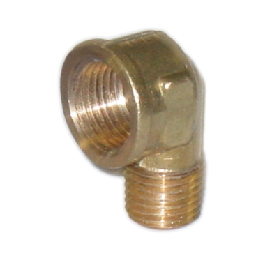 "Willoughby 320602 Elbow Street 3/8"" FPT x 1/4"" MPT"