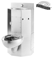 "Metcraft 3618-90C 18"" Front Mount Toilet-Lavatory Comby"