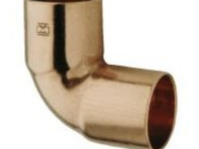 "1/2""x3/8"" Copper Elbow Short 90* CxC"