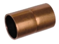 "1"" Copper Coupling CxC w/ Stop"
