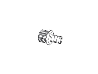 "3/4"" Brass Pex Male Adapter BARBxMIP"