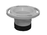 "Twist and Set Closet Flange Fits Inside 4"" PVC Pipe 43651"