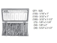 555 Piece Cotter Pin Assortment Kit 555CP