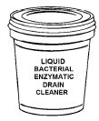 Liquid Enzymatic Drain Cleaner 5 Gallon Bucket w/ Spout 642505SA