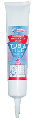 tub and tile caulk 6oz