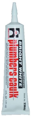 Plumber's caulk squeeze tube 6oz almond