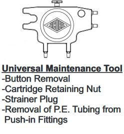 Acorn 7003-830-000 Universal Maintenance Tool for Water Coolers