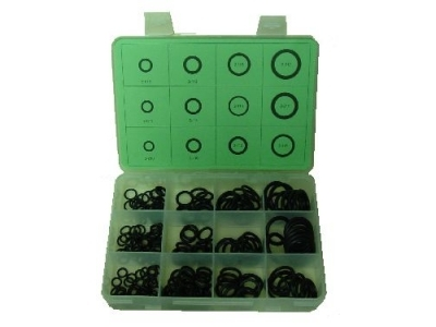 Small Assorted O-Ring Kit w/ 12 Sizes and 200 Pieces