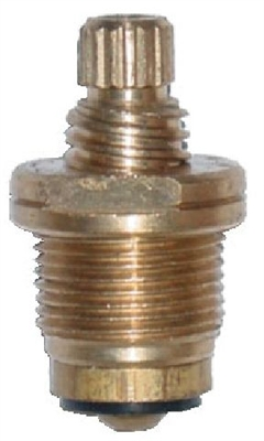 Central Brass Generic Hot Lav Stem 1-1/2""