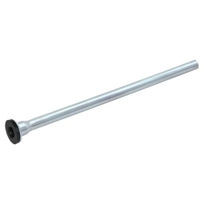 "Chrome Plated Supply Tube for Commode 3/8"" x 20"""