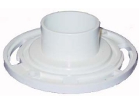 "PVC 3"" Schedule 40 Closet Flange Fits Inside Schedule 40 DWV Pipe"