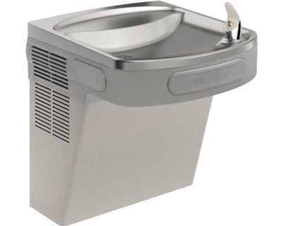 Elkay EZS8L Cooler Wall Mount ADA Non-Filtered, 8 GPH Light Gray Granite