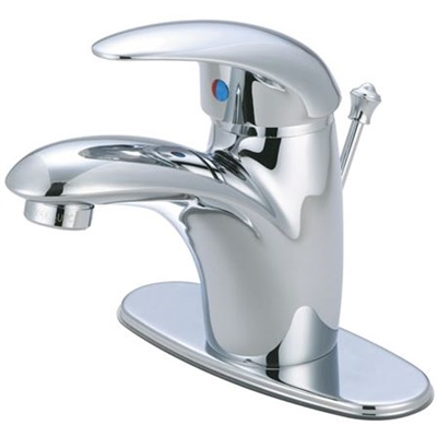 Kingston Brass FS6401WLL Single Lever Polished Chrome Lavatory Faucet