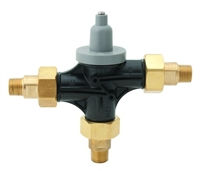 "Bradley S59-4016D Navigator Point-of-Use Thermostatic Mixing Valve with 1/2"" NPT Sweat Connections"
