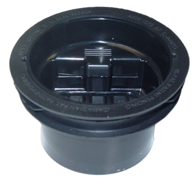 "Sure Seal SS3509 3-1/2"" Floor Drain Trap Sealer"