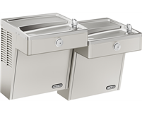 Elkay VRCTLDDSC Cooler Wall Mount Bi-Level ADA Vandal-Resistant, Non-Filtered Non-Refrigerated Stainless