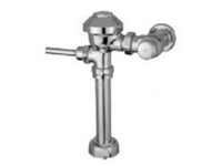 Zurn Z6000AV-WS1 AquaVantage exposed quiet diaphragm type flush valve has a top spud connection for water closets 1.6 GPF