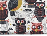 Spooktacular Owls on Cream
