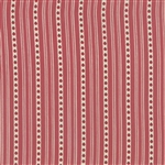 13713-15 Red Christmas Stripe French General