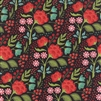 30431-15 Juniper Berry Black Floral