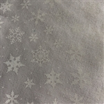 39105-100 White-on-White Snowflakes