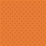 4064-O1 Pumpkin Spice Orange Ditsy