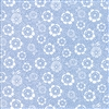 Oxford Prints Light Blue Floral