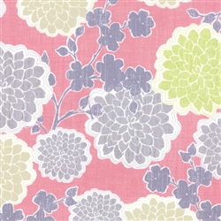 True Luck Floral on Pink
