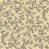 7255-NL Tan Floral Vines
