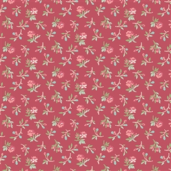 7778-NR Red and Pink Tiny Roses
