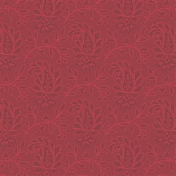 7990-R Tonal Red Paisleys