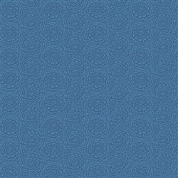 8005-B Blue Tonal Flower