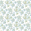 8010-B Blue Paisley Flower