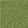 8264-G Pumpkin Spice Green Leaves